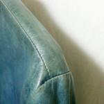 革ジャケットの変色直し・染め直し