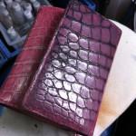 クロコダイル 財布の染め直し