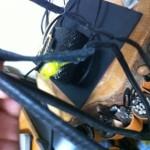 籐バッグの持ち手修理