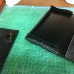 財布のリメイク マチのサイズ変更