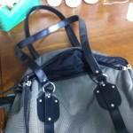 ペット用バッグのリメイク 持ち手長さを短く変更!