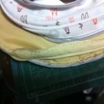 子供用デイパック(リュックサック)の肩ベルト修理