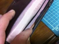 財布のラウンドファスナー交換修理2
