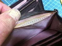 財布のラウンドファスナー交換修理3