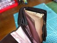 財布のラウンドファスナー交換修理4