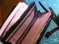 財布のラウンドファスナー交換修理7