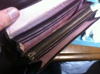 財布のラウンドファスナー交換修理12