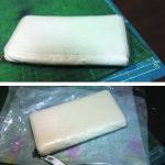 グッチシマ ラウンドファスナー長財布の修復