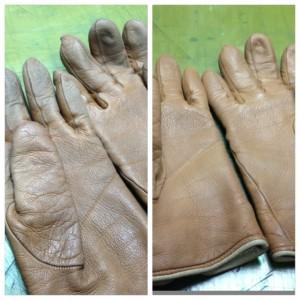 手袋の補正と直し