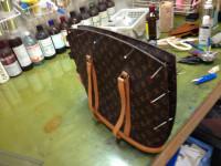 モノグラム バッグ 内ポケットの修理5