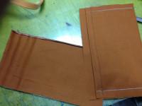 モノグラム バッグ 内ポケットの修理3