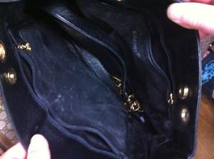 シャネルバッグ 内袋 修理1