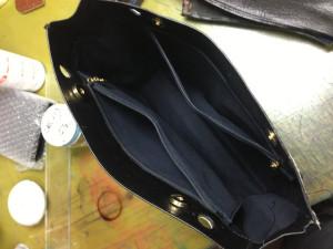 シャネルバッグ 内袋 修理5