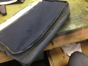 シャネルバッグ 内袋 修理4