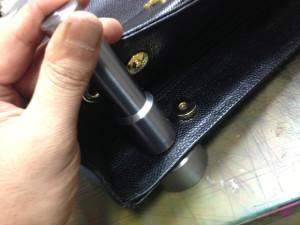 シャネルバッグ 内袋 修理14