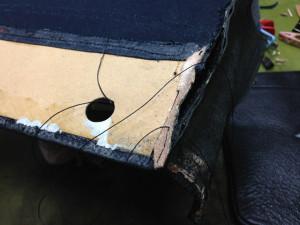 シャネルバッグ 内袋 修理6
