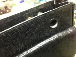 シャネルバッグ 内袋 修理13