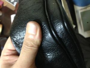 シャネルバッグ 内袋 修理9