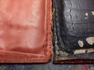 アルティオリ ARTIOLI クロコダイル 財布 修理2