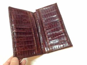 アルティオリ ARTIOLI クロコダイル 財布 修理9